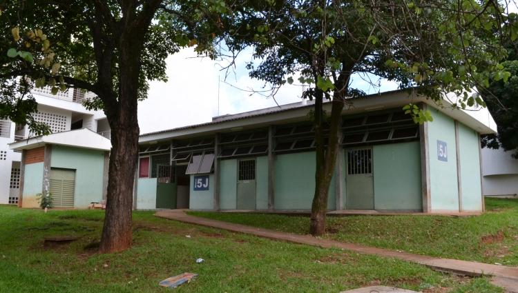 Imagem do Bloco 5J do câmpus Santa Mônica