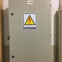 Infraestrutura elétrica para o bloco 1USM
