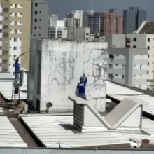 Estagio da obra em 30/09/2019
